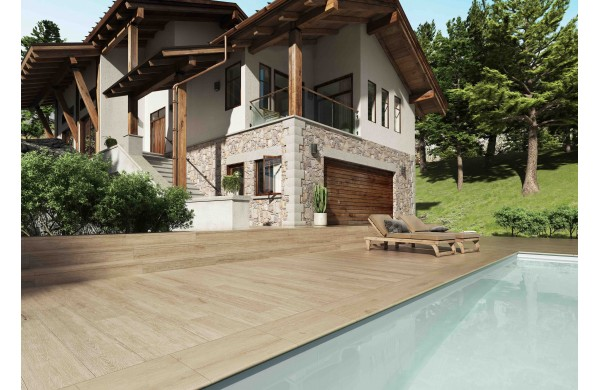 YOHO pool edge tile. Benefits and distinctive characteristics.