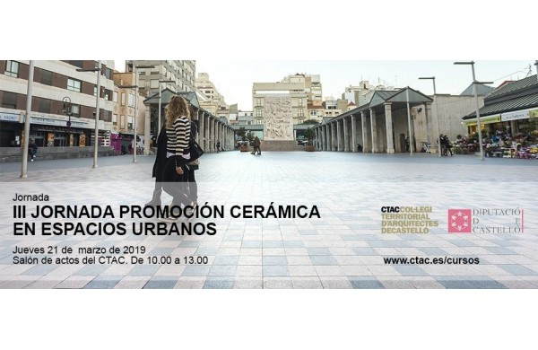 Exagres at the '3rd Conference for the Promotion of Ceramics in Urban Spaces -CRU-'