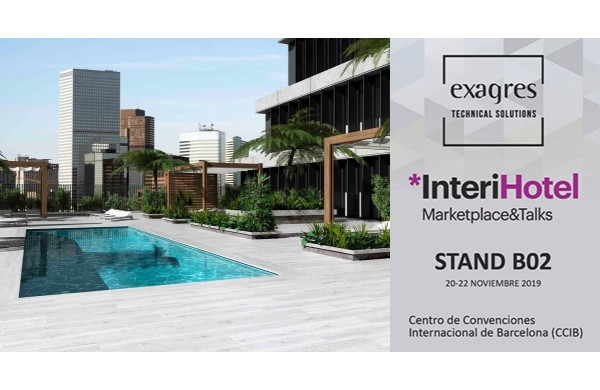Exagres presents best swimming pool construction solutions at InteriHotel